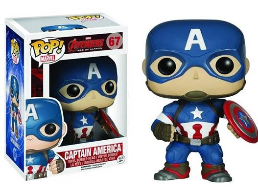 captain america pop